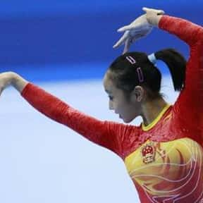Huang Qiushuang is listed (or ranked) 25 on the list Famous Female Gymnasts