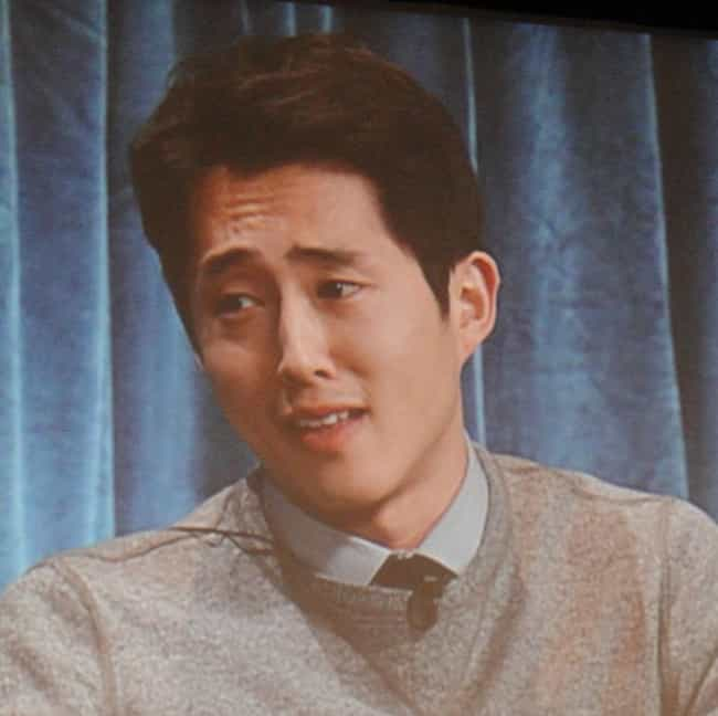 Steven Yeun is listed (or ranked) 2 on the list The Best The Walking Dead Actors