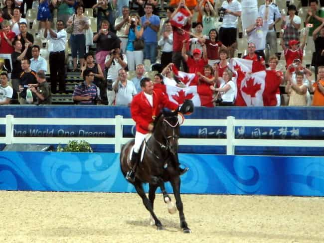Eric Lamaze is listed (or ranked) 4 on the list Famous Equestrians from Canada