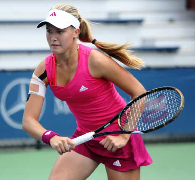 Eugenie Bouchard is listed (or ranked) 4 on the list The Best Tennis Players from Canada