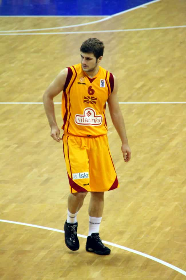 Darko Sokolov is listed (or ranked) 4 on the list Famous Basketball Players from Republic of Macedonia