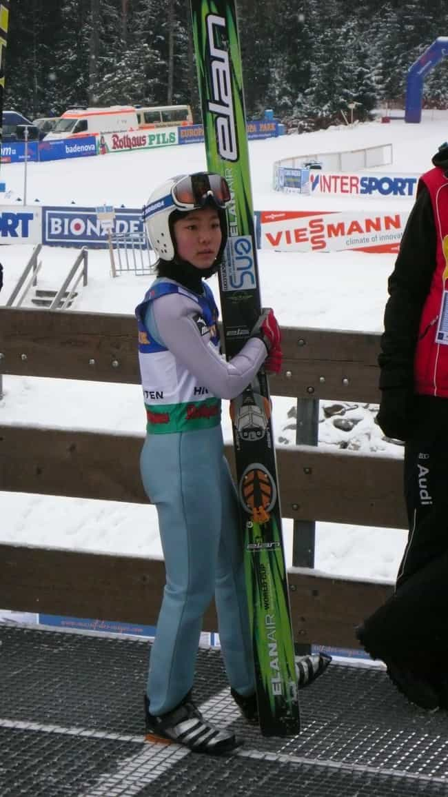 Sara Takanashi is listed (or ranked) 3 on the list Famous Female Ski Jumpers