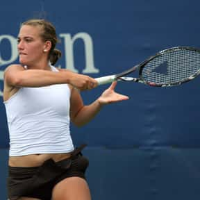 Tímea Babos is listed (or ranked) 14 on the list Best Current Women's Tennis Serves