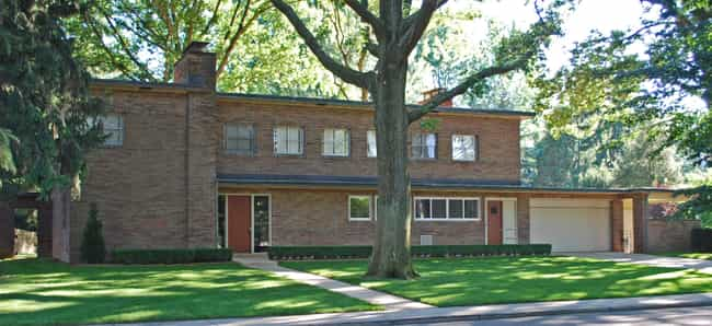 Charles J. and Ingrid V.... is listed (or ranked) 1 on the list Eliel Saarinen Architecture