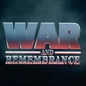 War and Remembrance is listed (or ranked) 18 on the list The Greatest TV Shows Set in the '40s