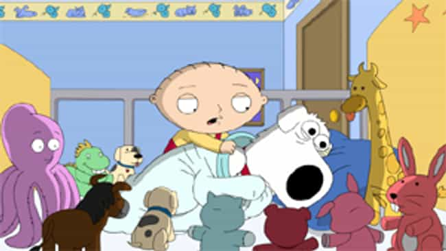 Seahorse Seashell Party ... is listed (or ranked) 1 on the list The 15 Worst 'Family Guy' Episodes Ever