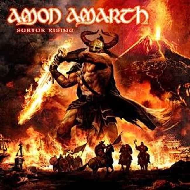 Surtur Rising is listed (or ranked) 3 on the list The Best Amon Amarth Albums of All Time