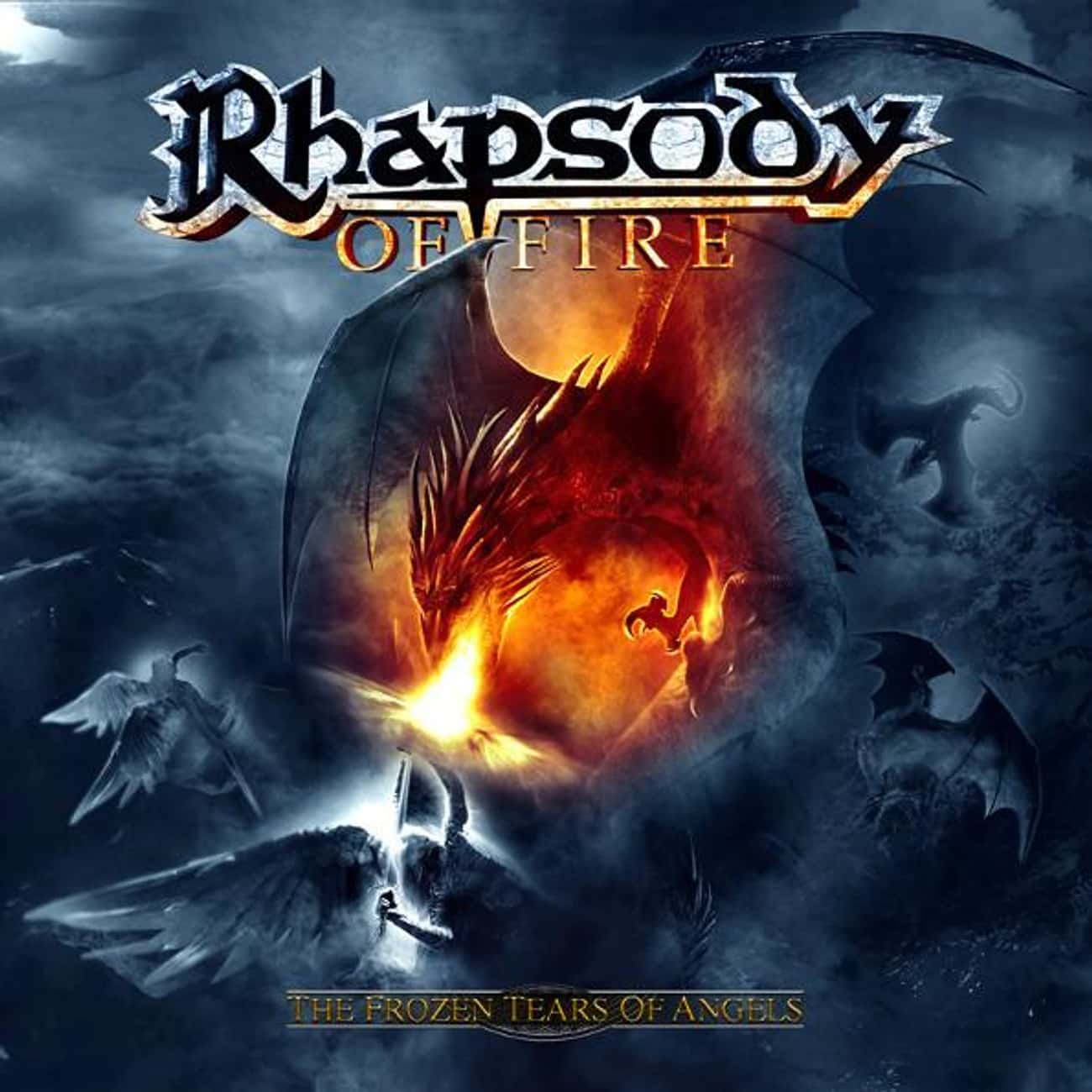 The Frozen Tears of Angels is listed (or ranked) 1 on the list The Best Rhapsody Of Fire Albums of All Time