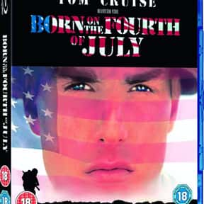 Born on the Fourth of July is listed (or ranked) 10 on the list EW.com's Spot the Anachronism in 10 Movies