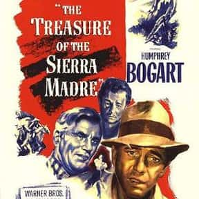 The Treasure of the Sierra Mad is listed (or ranked) 5 on the list The Best 1940s Western Movies