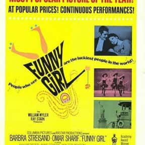 Funny Girl is listed (or ranked) 15 on the list The Best Musical Love Story Movies