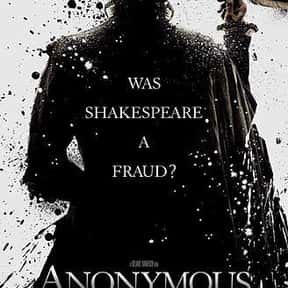 Anonymous is listed (or ranked) 2 on the list The Best Movies About William Shakespeare, Ranked