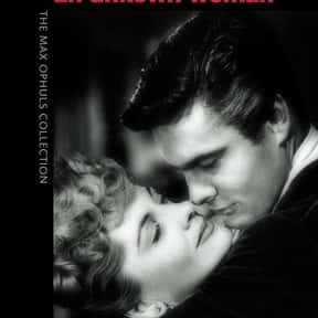 Letter from an Unknown Woman is listed (or ranked) 12 on the list The Best Romance Movies of the 1940s