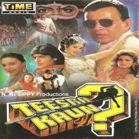 Teesra Kaun is listed (or ranked) 4 on the list The Best Chunky Pandey Movies