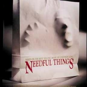 Needful Things is listed (or ranked) 9 on the list The Best Max Von Sydow Movies