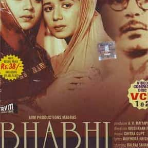 Bhabhi is listed (or ranked) 16 on the list The Best Balraj Sahni Movies
