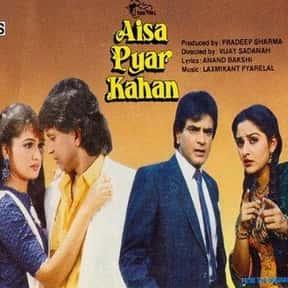 Aisa Pyaar Kahan is listed (or ranked) 4 on the list The Best Padmini Kolhapure Movies