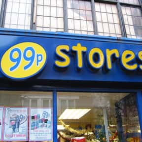 99p Stores is listed (or ranked) 5 on the list List of Retail Companies