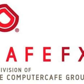 Cafe FX is listed (or ranked) 7 on the list List of Visual Effects Companies