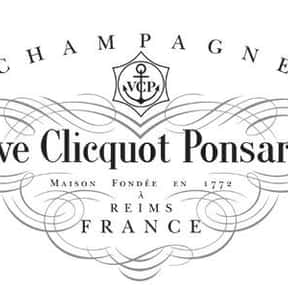 Veuve Clicquot is listed (or ranked) 10 on the list The Best Sparkling Wine Brands