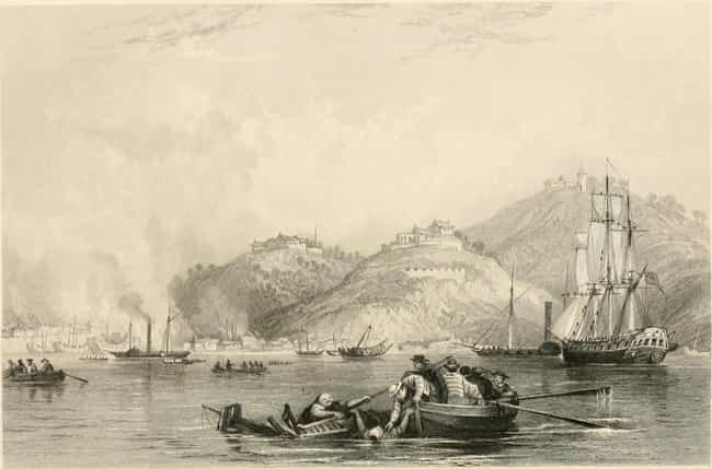 Battle of Chapoo is listed (or ranked) 4 on the list List Of First Opium War Battles