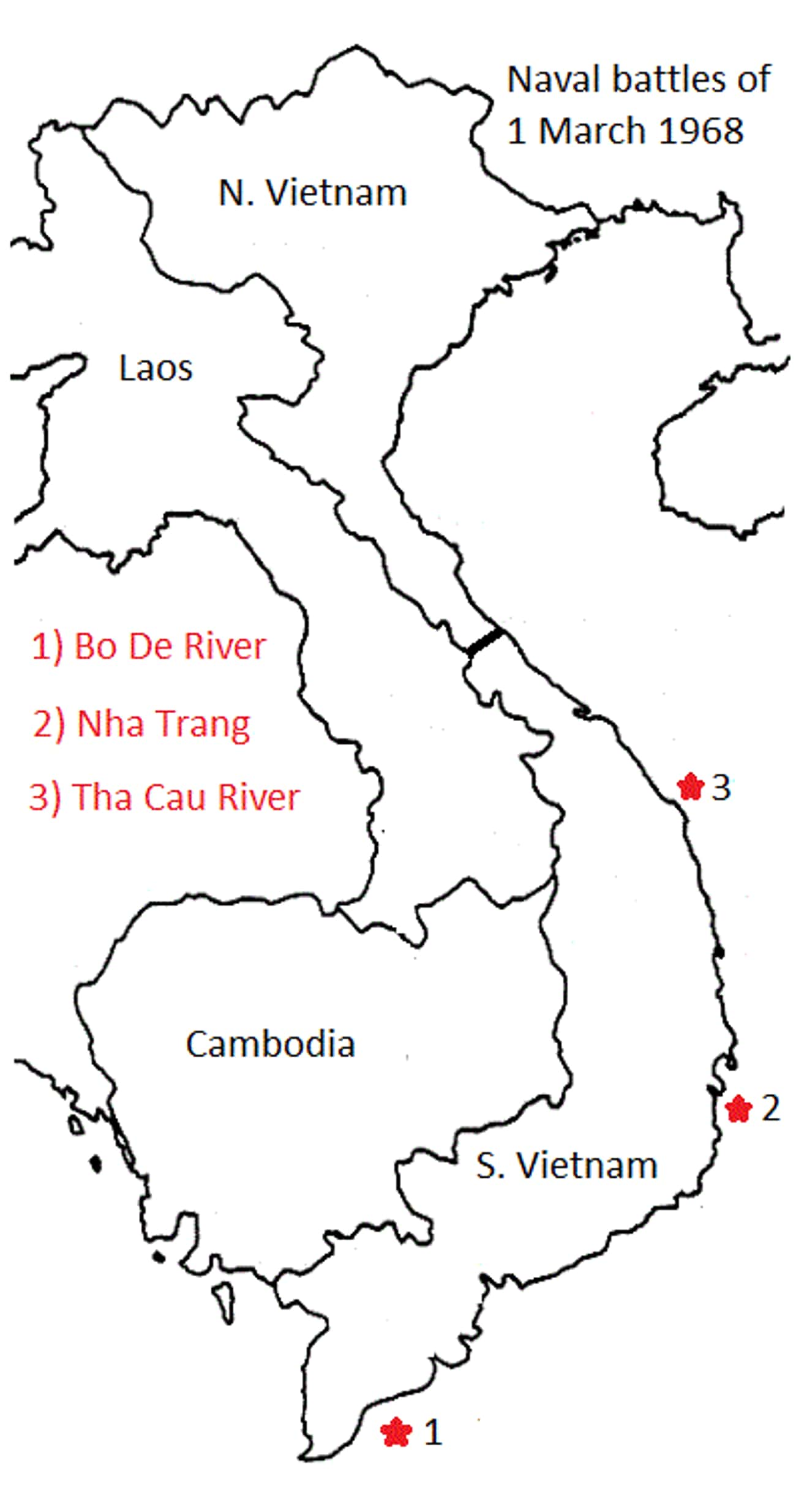 Action of 1 March 1968 is listed (or ranked) 1 on the list List Of Vietnam War Battles