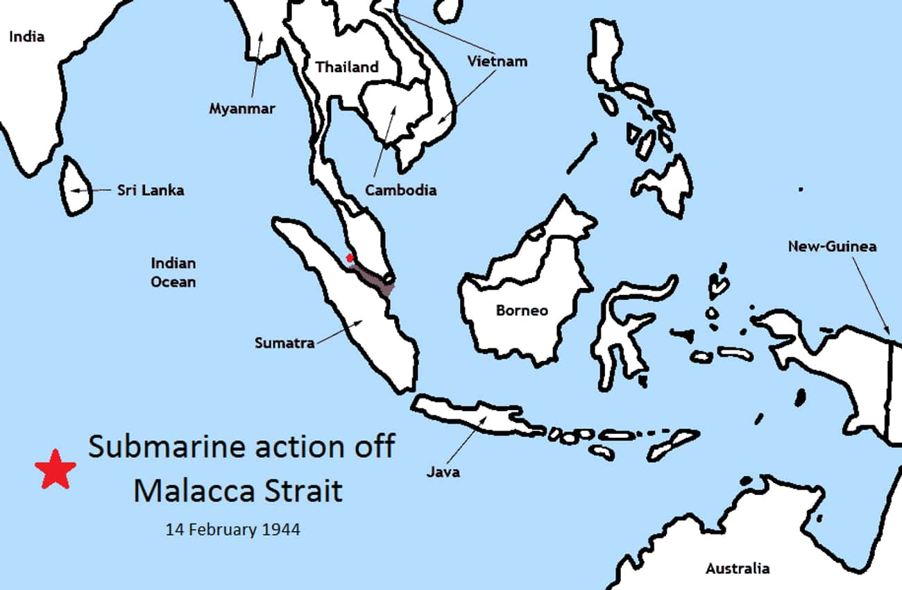 Action of 14 February 1944 is listed (or ranked) 4 on the list List Of Pacific War Battles