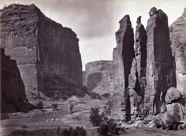 Battle of Canyon de Chelly is listed (or ranked) 1 on the list List Of Navajo Wars Battles