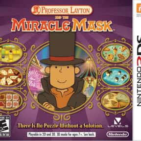 Professor Layton and the Mask  is listed (or ranked) 17 on the list Level-5 Games List