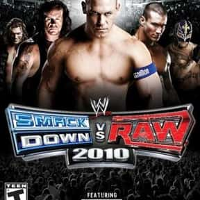WWE SmackDown vs. Raw 2010 is listed (or ranked) 15 on the list The Best Wrestling Games of All Time