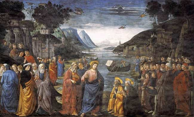 The Calling of the First... is listed (or ranked) 4 on the list Famous Italian Renaissance Frescos