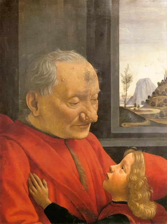 An Old Man and His Grandson is listed (or ranked) 1 on the list Famous Portraits from the Italian Renaissance Movement