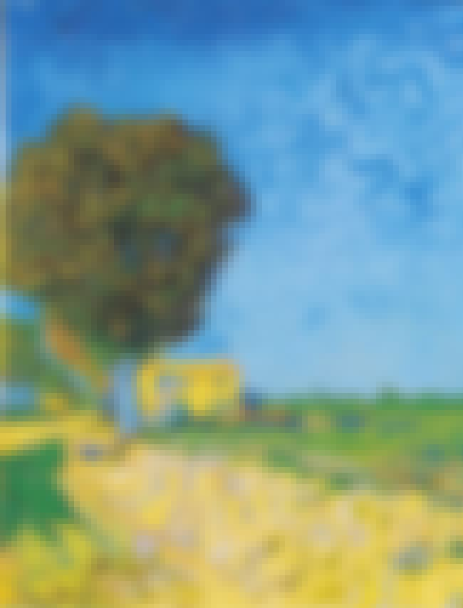 A Lane near Arles is listed (or ranked) 3 on the list Famous Vincent van Gogh Paintings
