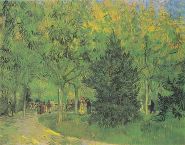 A Lane in the Public Garden at... is listed (or ranked) 2 on the list Famous Vincent van Gogh Paintings