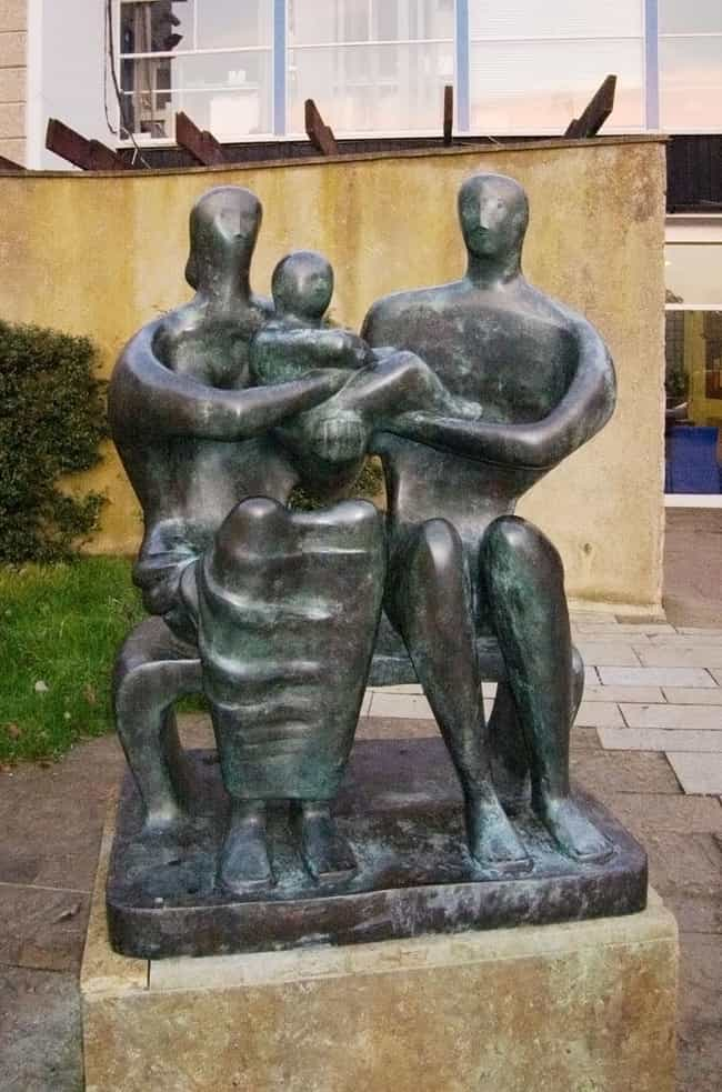 Family Group is listed (or ranked) 2 on the list Famous Henry Moore Sculptures