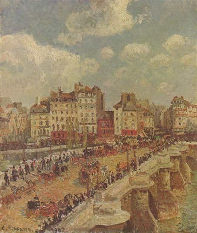 Le Pont Neuf is listed (or ranked) 3 on the list Famous Camille Pissarro Paintings