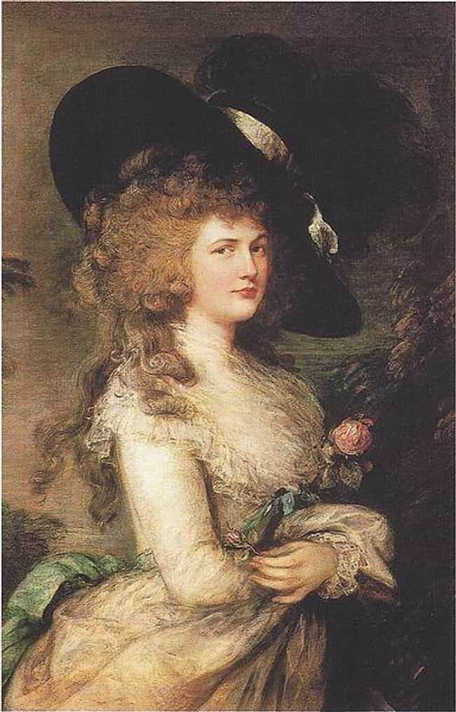 Georgiana, Duchess of De... is listed (or ranked) 2 on the list Famous Thomas Gainsborough Paintings