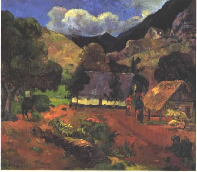 Landscape With Three Peo... is listed (or ranked) 3 on the list Famous Landscape Arts by Paul Gauguin