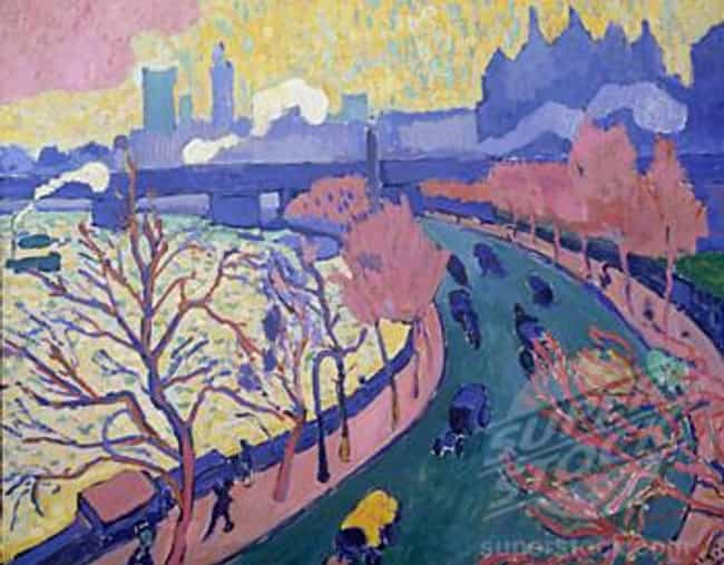 Charing Cross Bridge is listed (or ranked) 2 on the list Famous Fauvism Artwork
