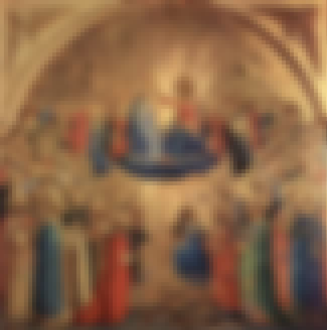 Coronation of the Virgin is listed (or ranked) 4 on the list List of Famous Fra Angelico Artwork