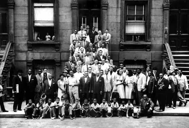 A Great Day in Harlem is listed (or ranked) 1 on the list List of Famous Portrait Photos
