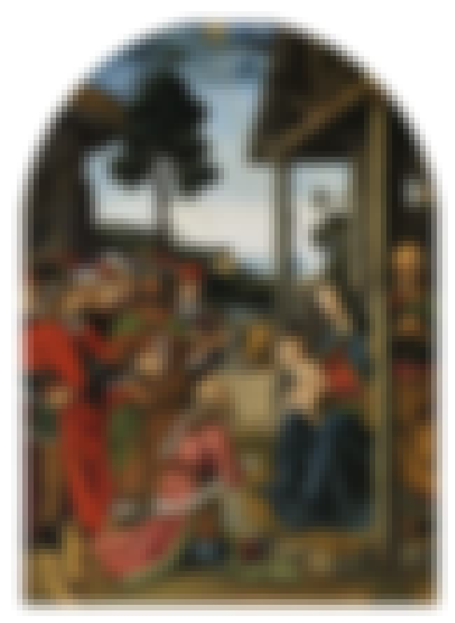 Adoration of the Magi is listed (or ranked) 1 on the list List of Famous Pietro Perugino Artwork
