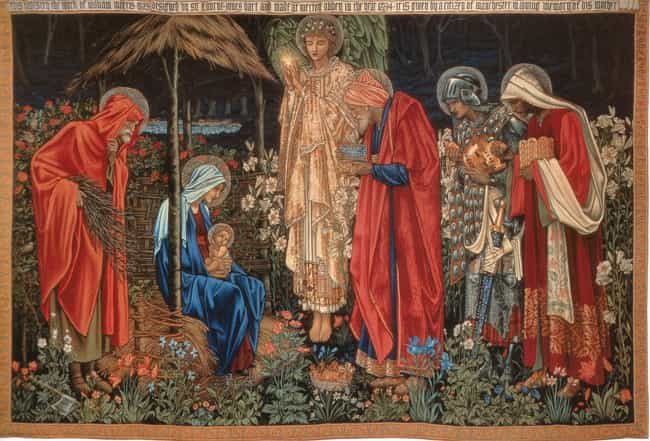 Adoration of the Magi is listed (or ranked) 4 on the list Famous Adoration of the Magi in Art Art