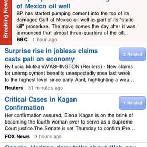 Fluent News Reader is listed (or ranked) 18 on the list The Best News Apps for Your Smartphone