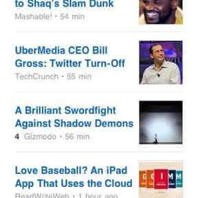 FEEDLY is listed (or ranked) 8 on the list The Best News Apps for Your Smartphone