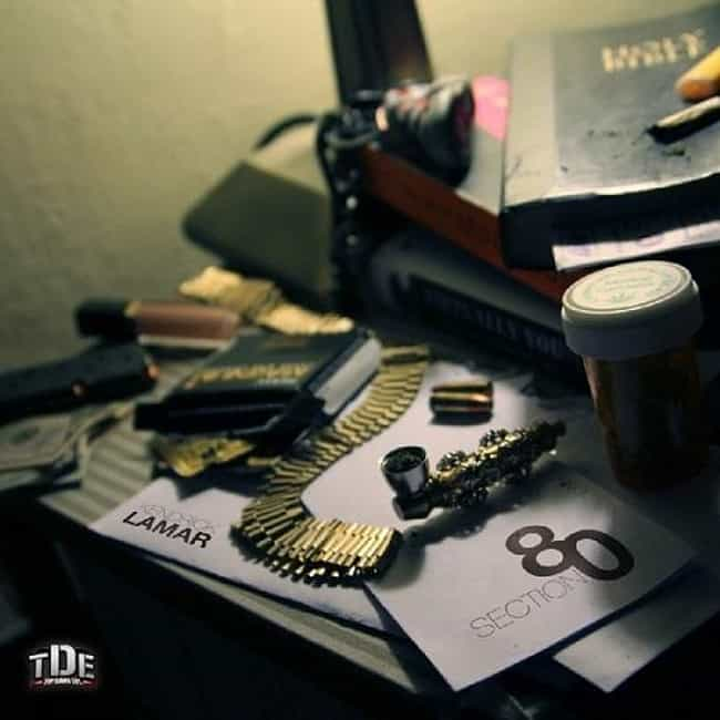 Section.80 is listed (or ranked) 4 on the list The Best Kendrick Lamar Albums, Ranked