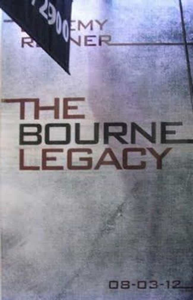 The Bourne Legacy is listed (or ranked) 4 on the list The Best Recent Spy Shows and Movies