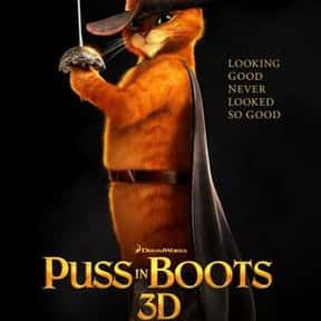 Puss in Boots is listed (or ranked) 4 on the list The Best Cat Movies for Kids