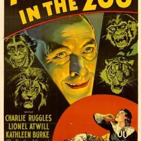 Murders in the Zoo is listed (or ranked) 25 on the list The Best '30s Thriller Movies