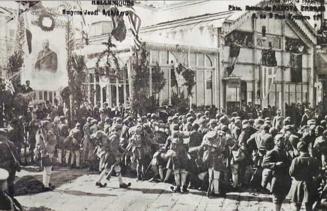 Greek landing at Smyrna is listed (or ranked) 4 on the list List Of Turkish War of Independence Battles